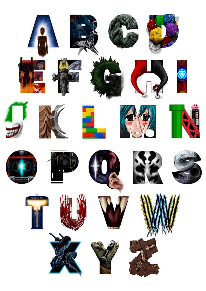 The Geek's Alphabet